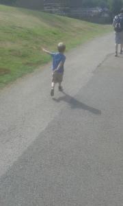 aged 5 running