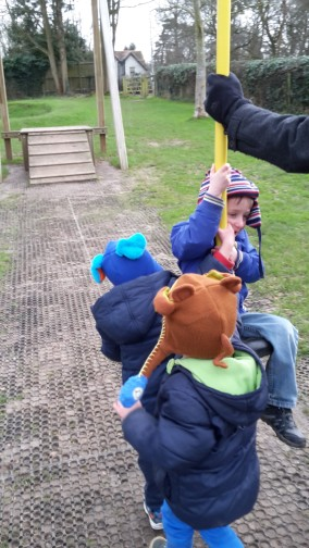 boys at the park