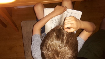 eldest boy reading