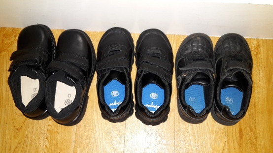 school shoes x 3