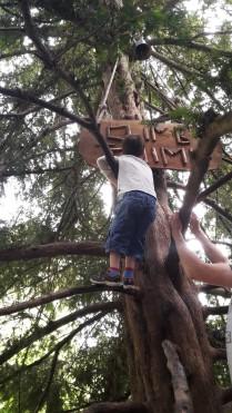 Twin 1 climbing