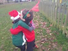 Christmas park run