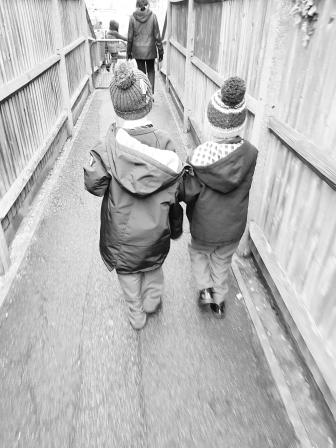 school run boys